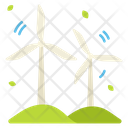 Ecology Windmill Power Icon
