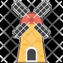 Wind Turbine Windmill Turbine Fans Icon
