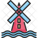 Windmill Energy Environment Icon
