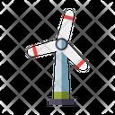 Windmill Wind Turbine Wind Farm Icon