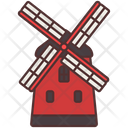 Windmill Agriculture Farming Icon