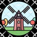 Turbine Windmill Natural Energy Icon