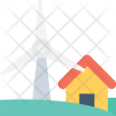 Windmill Wind Energy Icon