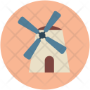 Windmill Tower Aerogenerator Icon
