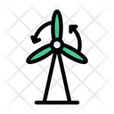Windmill Turbine Energy Icon