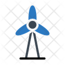 Windmill Turbine Power Icon