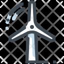 Windmill Energy Turbine Icon