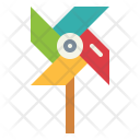 Windmill Wind Toy Icon