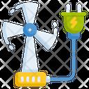 Windmill Generator Turbine Icon