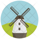 Traditional Windmill Energy Icon