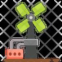 Windmill Ecology Energy Icon