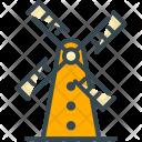 Windmill Energy Convert Icon