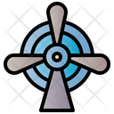 Windmill Power Electricity Icon