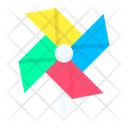 Windmill Spring Nature Icon
