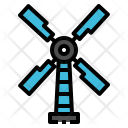 Windmill Power Ecology Icon