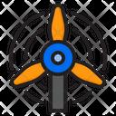 Windmill Wind Power Icon