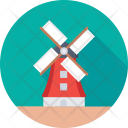 Windmill Turbine Farm Icon