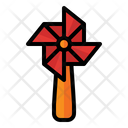 Windmill Pinwheel Toy Icon