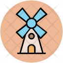 Windmill Mill Tower Icon