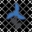 Turbine Windmill Ecology Icon