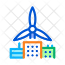 Wind Energy Residential Icon
