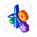 Windmill Settings Research Icon