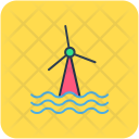 Windmills Wind Energy Icon