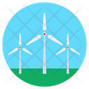 Propeller Windmills Turbine Icon