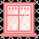 Window Glass Interior Icon