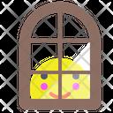 Window Smile Glass Icon