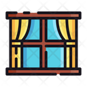 Window Glass Window Curtain Icon
