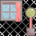 Window Interior Furniture Icon