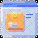 Window Box Internet Icon