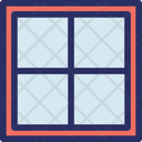 Glass Mirror Polished Icon