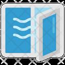 Quarantine Stayhome Window Ventilation Icon