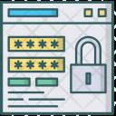 Window Login Lock Icon