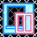 Window Installation Color Icon