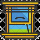 Window Mirror Furniture Icon