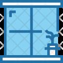 Window Vase Furniture Icon