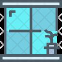 Window Glass Pot Icon