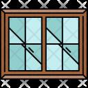 Double Window Glass Icon