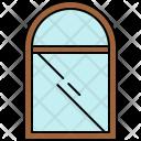 Round Window Mirror Icon
