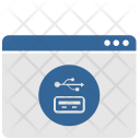 Data Usb Port Icon