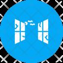 Window Bat Unhinged Icon