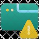 Window Browser Alert Icon
