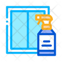 Window Cleaning Spray Icon