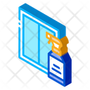 Glass Clean Spray Icon