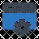Window Configuration Icon