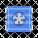Window Electrical Fan Icon