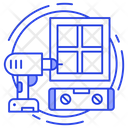 Window Installation Icon